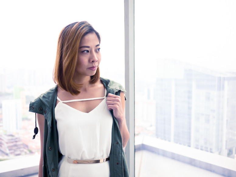 Ohvola White dress Singapore Fashion Style Blogger