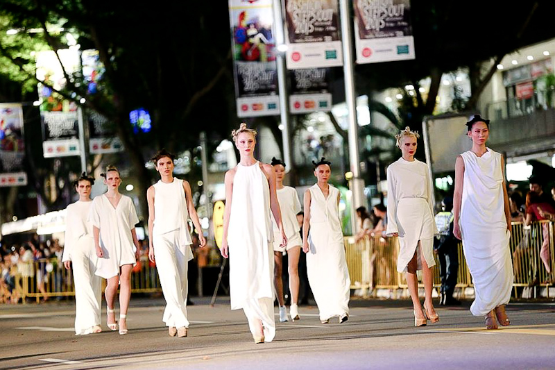Fashion Steps Out Singapore Orchard Fashion Show