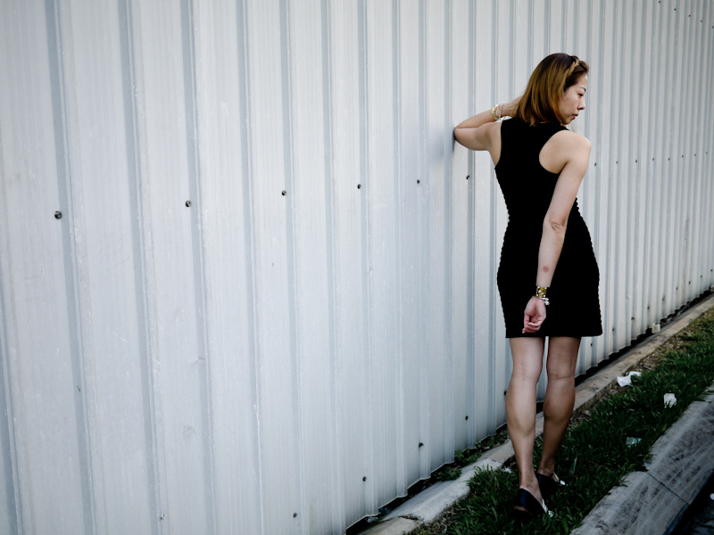Singapore Fashion Blog - Mango Black Dress